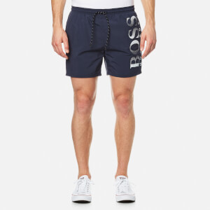 BOSS Hugo Boss Men's Octopus Logo Swim Shorts - Blue