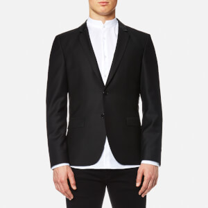 HUGO Men's Awerd 2 Button Jacket - Black