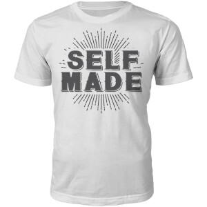 T-Shirt Unisexe Self Made -Blanc