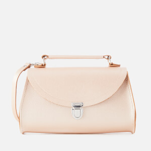 The Cambridge Satchel Company Women's Mini Poppy Bag - Rose Gold Saffiano