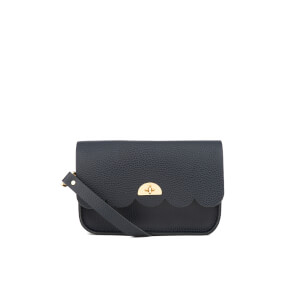 The Cambridge Satchel Company Women's Small Cloud Bag - Navy Celtic Grain