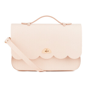 The Cambridge Satchel Company Women's Cloud Bag with Handle - Chalk Celtic Grain