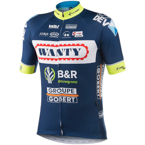 Kalas Wanty Groupe Gobert Replica Team Short Sleeve Jersey