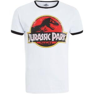 Jurassic Park Men's Classic Ringer T-Shirt - White