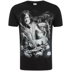 Camiseta The Walking Dead Ballesta Dixon - Hombre - Negro