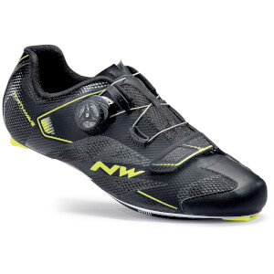 Northwave Sonic 2 Plus Cycling Shoes - Black/Yellow