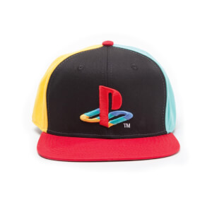PlayStation Classic Snapback Cap with Original Logo Colors - Multi