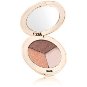 jane iredale PurePressed Eye Shadow Triple - Pink Quarts