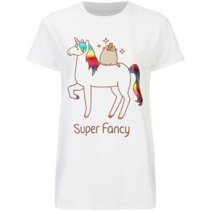 Pusheen Women's Super Fancy T-Shirt - White