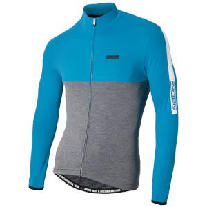 Nalini Mantova Warm Long Sleeve Jersey - Grey/Blue