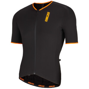 Nalini Xtornado Ti Short Sleeve Jersey - Black/Orange
