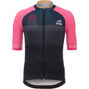 Santini Giro d'Italia 2017 Stage 21 Monza - Milan Jersey - Black/Pink