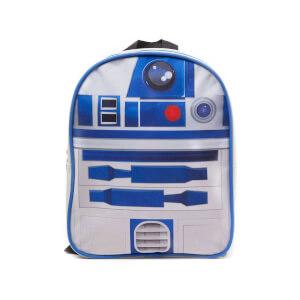 Mochila Star Wars R2D2 - Blanco/azul