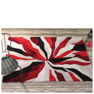 Flair Infinite Splinter Rug - Red