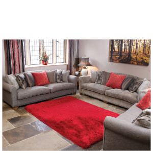 Flair Pearl Rug - Red