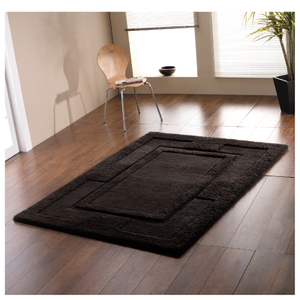 Flair Sierra Apollo Rug - Black