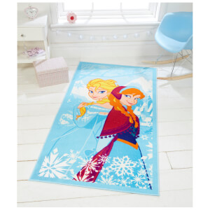 Flair Matrix Disney Rug - Frozen Blue