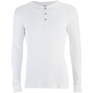 Levi's Men's Long Sleeve Grandad Top - White