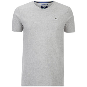 T-Shirt Homme Glasshouse V Le Shark -Gris Chiné