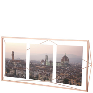 Umbra Prisma Three Photo Frame Display - Copper - 6 x 4""