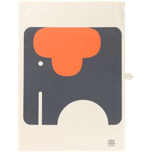 Orla Kiely Tea Towel - Elephant (2 Pack)