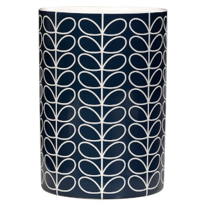 Orla Kiely Utensil Pot Linear Stem Slate