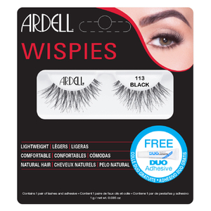 Ardell Wispies False Eyelashes – 113 Black