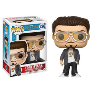 Spider-Man Tony Stark Pop! Vinyl Figur