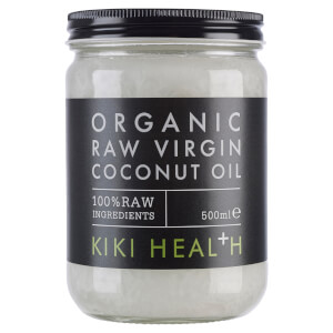 KIKI Health Organic Raw Virgin Coconut Oil olej kokosowy 500 ml