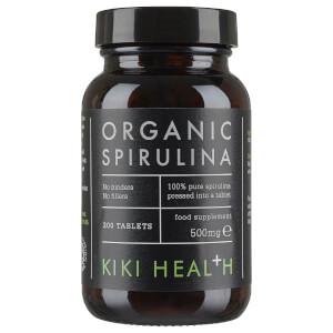 Comprimidos de espirulina orgánica de KIKI Health (200 comprimidos)