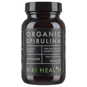 KIKI Health Organic Spirulina -tabletit (200 tablettia)