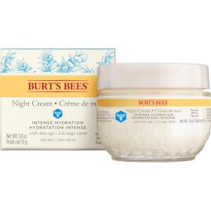 Crème de nuit Hydratation intense Burt's Bees 50g