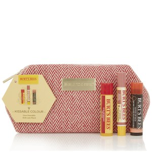 Burt's Bees Red Tweed Bag (Free Gift)
