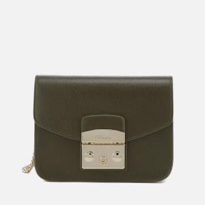 Furla Women's Metropolis Mini Cross Body Bag - Olive