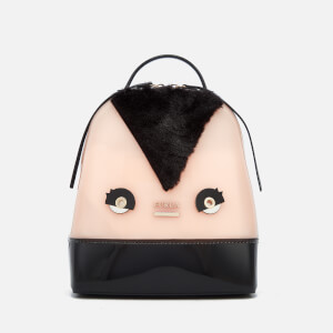 Furla Women's Candy Tweet Small Backpack - Pink/Black