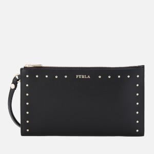 Furla Women's Babylon XL Envelope Clutch Bag - Onyx