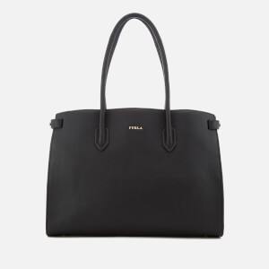 Furla Women's Pin Mini East West Tote Bag - Black