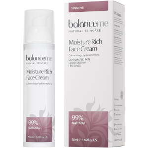 Balance Me Moisture Rich Face Cream -kasvovoide 50ml