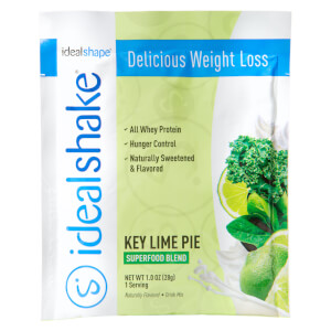 IdealShake Super Key Lime Sample