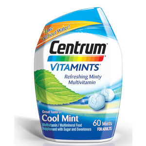 Centrum VitaMint Cool Mint Tablets (60 tabletter)