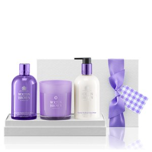 Molton Brown Exquisite Vanilla & Violet Flower Body & Home Gift Set