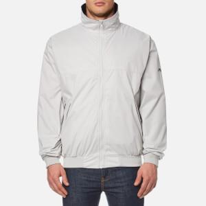 MUSTO Men's Classic Snug Blouson Jacket - Platinum/Black