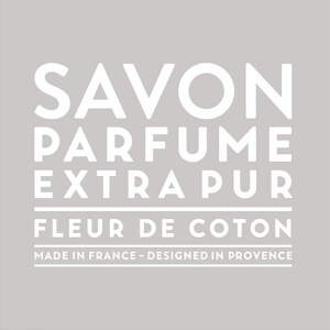 Compagnie de Provence Scented Soap 100g - Cotton Flower
