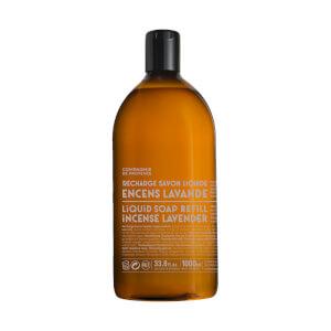 Compagnie de Provence Liquid Marseille Soap 1l Refill – Incense Lavender