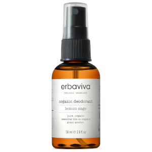 Erbaviva Travel Lemon Sage Organic Deodorant