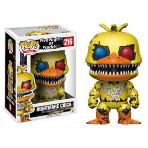 Figura Pop! Vinyl Nightmare Chica - Five Nights at Freddy's