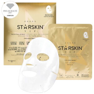 STARSKIN The Gold Mask™ VIP Revitalising Luxury Coconut Bio-Cellulose Second Skin Face Mask