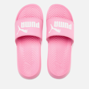 Puma Women's Popcat Slide Sandals - Pink/White