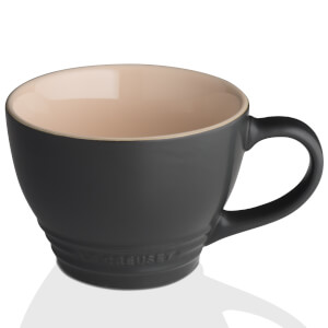 Le Creuset Stoneware Grand Mug - 400ml - Satin Black