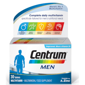 Centrum Men Multivitamin Tablets – (30 tabletter)
